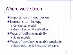 Importance Of Good Design In Hci An Overview Of The H In Hci Ppt Download
