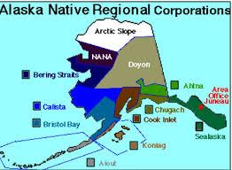 alaskan tribes regional organizations