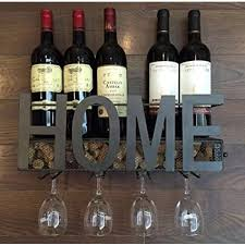 w a wall mounted metal wine rack 4