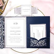 Good Photo Pocket Wedding Invitations Or 32 Invitation Maker App