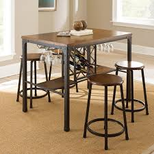 Industrial Kitchen Table Furniture Wood And Metal Dining Table Homelegance Loyalton Dining Set