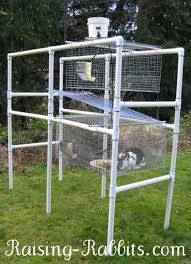 pvc bunny hutch 9 diy rabbit hutch ideas using upcycled furniture see more at