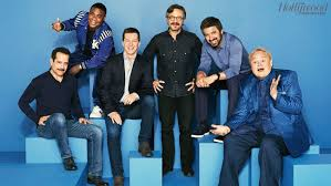 comedy actor roundtable exclusive portraits of sean hayes tracy morgan ray romano and more