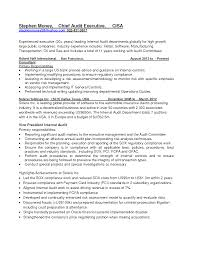 Cover Letter Audit Executive Lv Crelegant Com