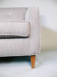 gray tweed sofa. Fine Tweed American Newly Upholstered MidCentury Sofa With Teak Legs In Grey Tweed  For Sale To Gray M