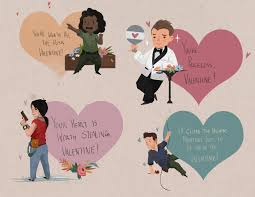 valentines days cards naughty dog spread the love with naughty dogs valentines day cards