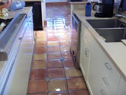 Kitchens With Saltillo Tile Floors Sanding Mexican Tile Mexican Tile Renew Fort Myers Sarasota St