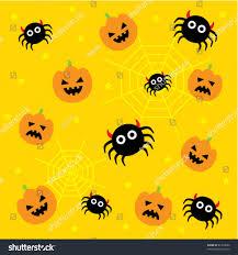 Cute Halloween Wallpaper Stock Vector ...