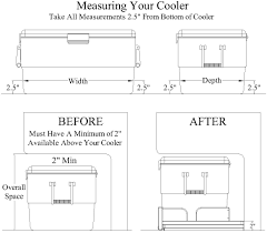 measuring your cooler