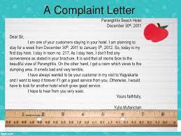 writing complaint letter complaint letter 2