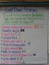 Cool Down Strategies Revisited Anchor Chart Social