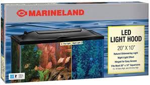 Marineland Aquarium Light Marineland Led Light Hood For Aquariums Day Night Light
