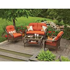 Small Picture Better Homes and Gardens Azalea Ridge 4 Piece Patio Conversation
