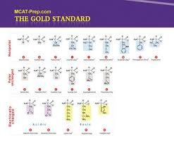 Mcat Amino Acid Chart Mcat Biochemistry Review Summary Gold Standard Mcat Prep