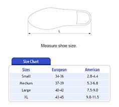 Indian Leg Size Chart Tynor Cast Shoe Xl 43 45