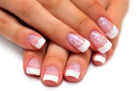 how to disguise grown out acrylic nails