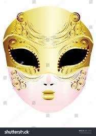 Decorative Face Masks Fashion Decorative Carnival Face Mask Illustration Stock Vector 60