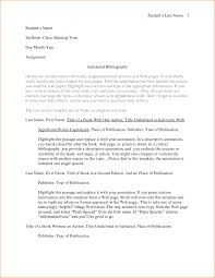 How To Write An Annotated Bibliography Apa Example Sample See Mple