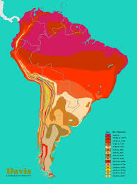 South America Hardiness Map Growing Zones Map Plant Zones
