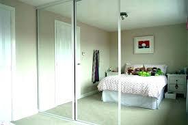 mirror door wardrobe sliding doors home ideas splendid mirrored uk