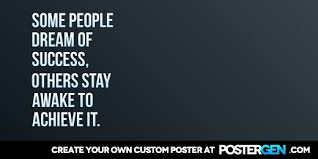 Success Posters Dream Of Success Twitter Cover Maker Motivational Posters Custom
