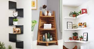 32 grand floating corner shelf designs