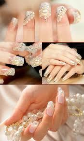 Wedding Nail Art Makes You Look Stunning on Your Wedding Day - TBM ...