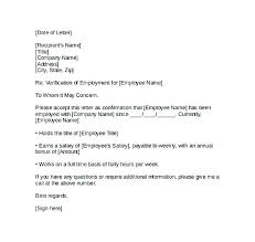 Sample Of Employment Certification Letter Employment Verification Letter Confirmation Employee