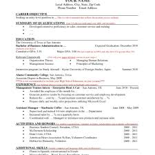 94 Resume Update Good Resumer Example