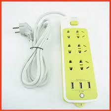 Ổ Cắm Điện Chống Giật 6 Lỗ, 3 Cổng USB Siêu Tiện Dụng, Bảo Hành 6 Tháng  ĐBGD chính hãng 80,000đ