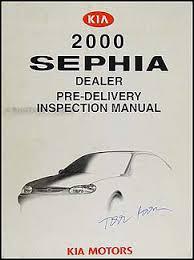 kia sephia electrical troubleshooting manual original 2000 kia sephia inspection manual original