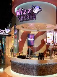 Blizz Yogurt Blizz Frozen Yogurt Inside The Mgm Grand It Says Frozen Yogurt But