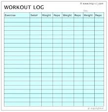 Work Out Charts Template Schedule Chart Template Digitalhustle Co