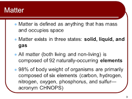 1 Outline Chemical Elements Atoms Atomic Mass and Atomic Number ...
