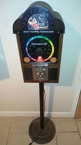Starscroll Horoscope Vending Machine Beauteous Starscroll Horoscope Vending Machine For Sale In Elmwood Park IL