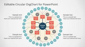 Smart Organizational Chart 013 The Horizontal Organizational Chart Template Slide Ideas