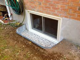 Models Basement Windows Window Wells With Fiber Glass And Plastic For Decorating Ideas