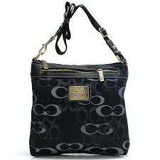 Coach Legacy Swingpack In Signature Large Black Crossbody Bags AVL   Coach0A983 …