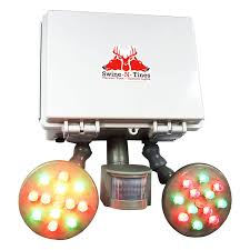 Motion Activated Feeder Light Harvest Time Gray Ghost Premium Step Fade Feeder Light Time And Motion Activated Amber Glowing Wild Game Light For Night Hunting Solar Powered Hog
