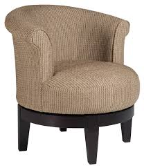 Round Swivel Chair Living Room Chairs Swivel Barrel Chic Attica Swivel Chair With Traditional
