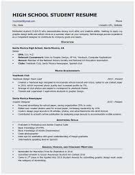 Resume Sample For Students With No Work Experience Entry Level Resume Samples For High School Students Terrific Resume