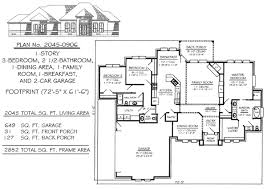 Excellent 2200 Sq Ft House Plans Ideas  Best Inspiration Home 2200 Sq Ft House Plans