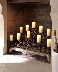 wrought iron fireplace screens home decor for candle holders in fireplace