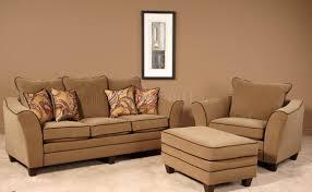 Walnut Living Room Furniture Sets Walnut Fabric Modern Sofa Chair Set W Options