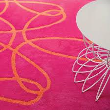 hot pink and orange area rug designs with inspirations 1