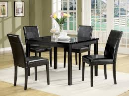 living black dining room furniture luxury black dining room furniture 16 modest table set gallery