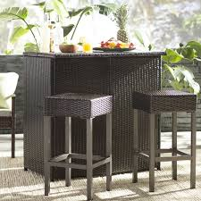 Outdoor Wicker Bar SetOutdoor Wicker Bar Furniture