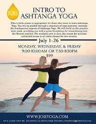 intro to ashtanga yoga encinitas july