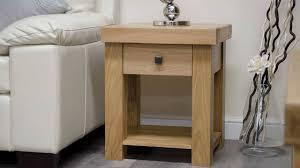Small Side Table Light Oak Light Oak Bedside Tables Side Table Decor Living Room