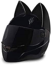 Discover over 553 of our best selection of related search, hot search. Amazon Com Nitrinos Full Face Motorcycle Helmets With Cat Ears Women Riding Motocross Racing Moto Helmet Sports Outdoors